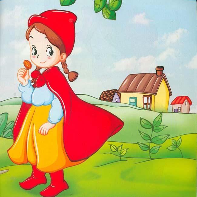 小红帽的故事图片
